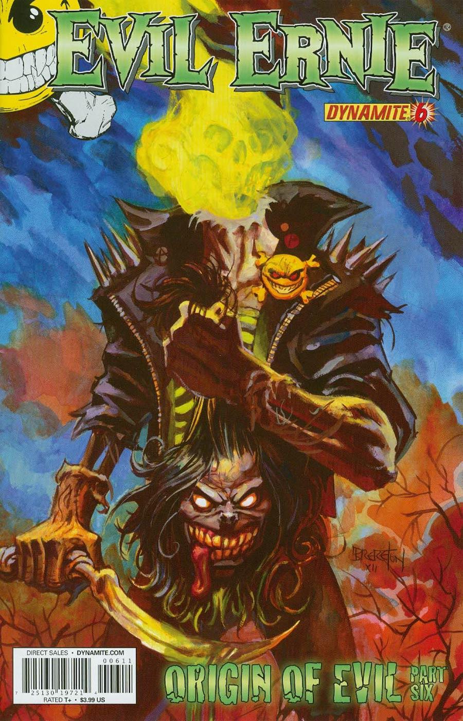 Evil Ernie Vol 3 #6 Cover B Regular Dan Brereton Cover