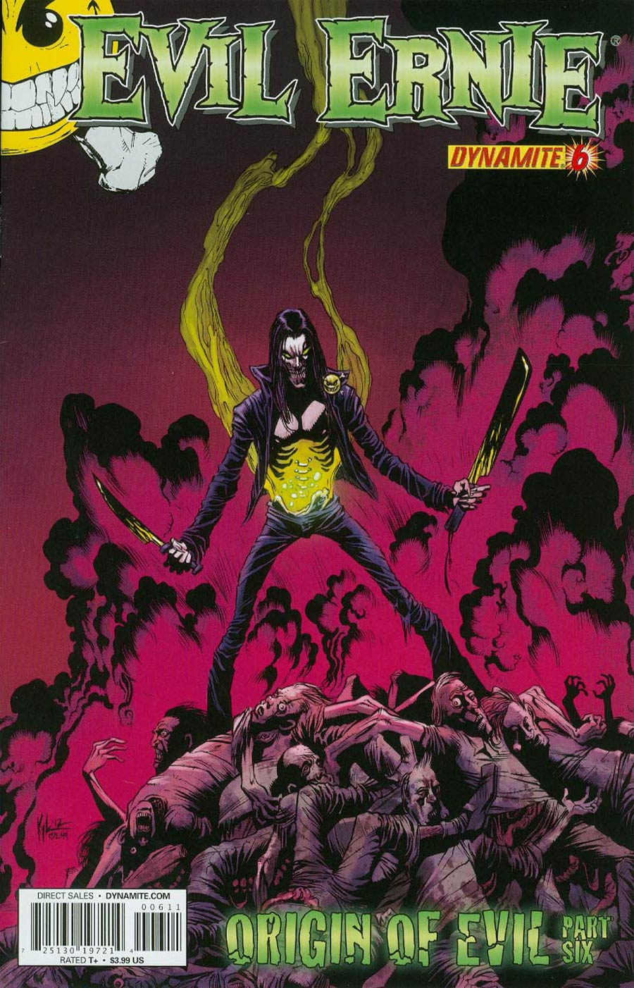 Evil Ernie Vol 3 #6 Cover C Regular Kyle Hotz Cover