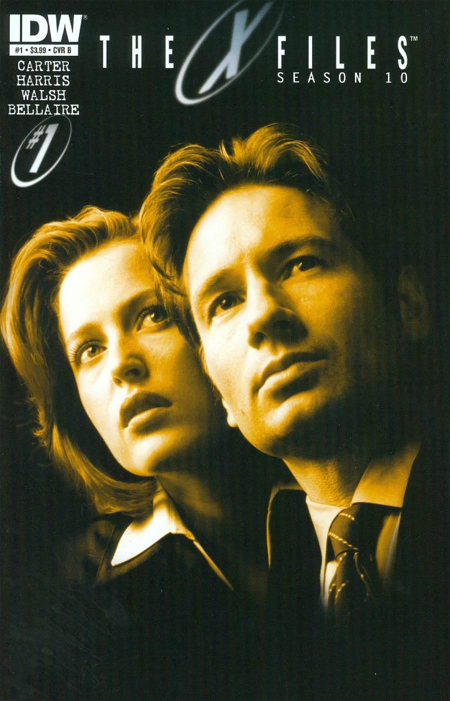 X-Files Season 10 #1 Cover B 1st Ptg Regular Photo Cover