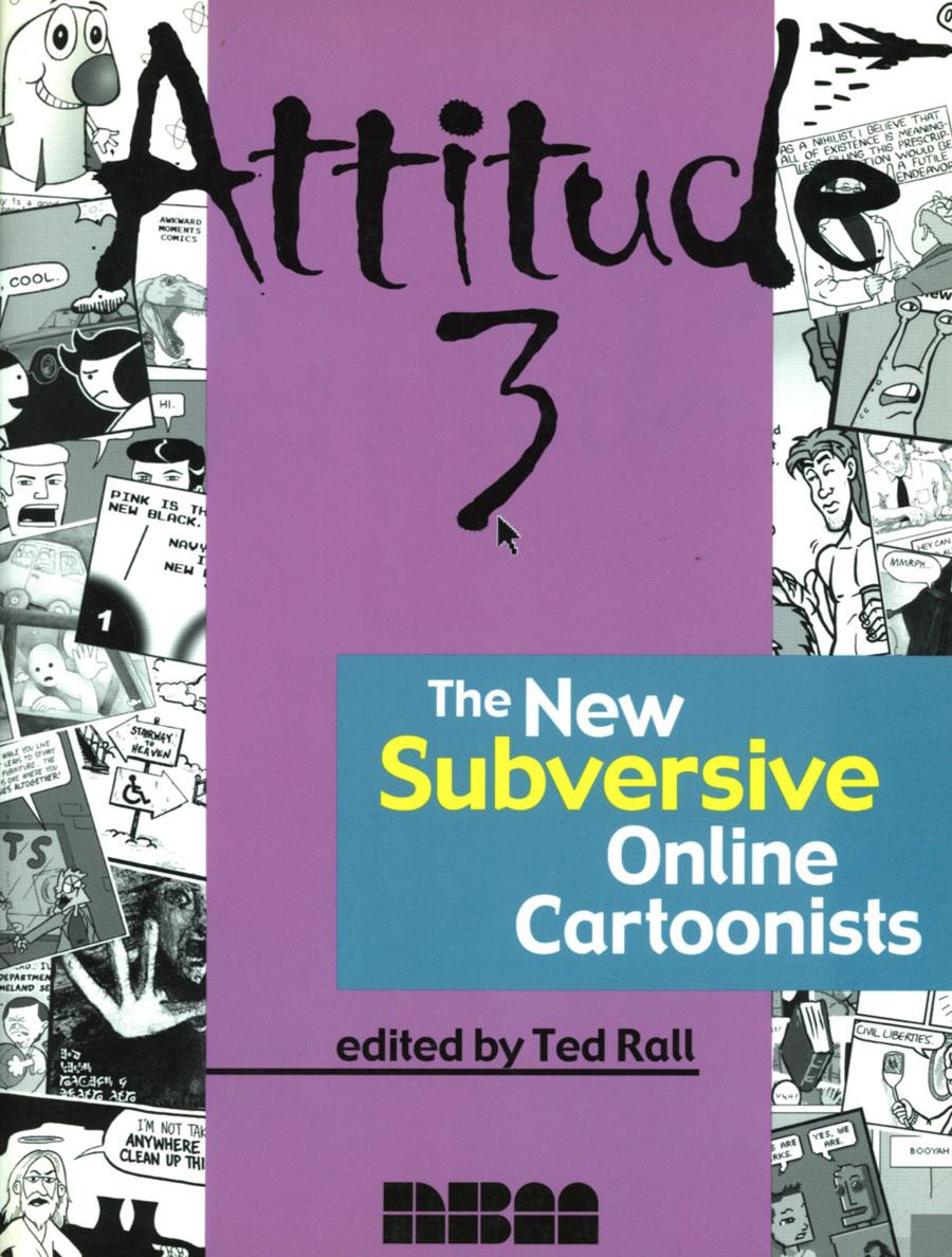 Attitude Vol 3 New Subversive Online Cartoonists TP