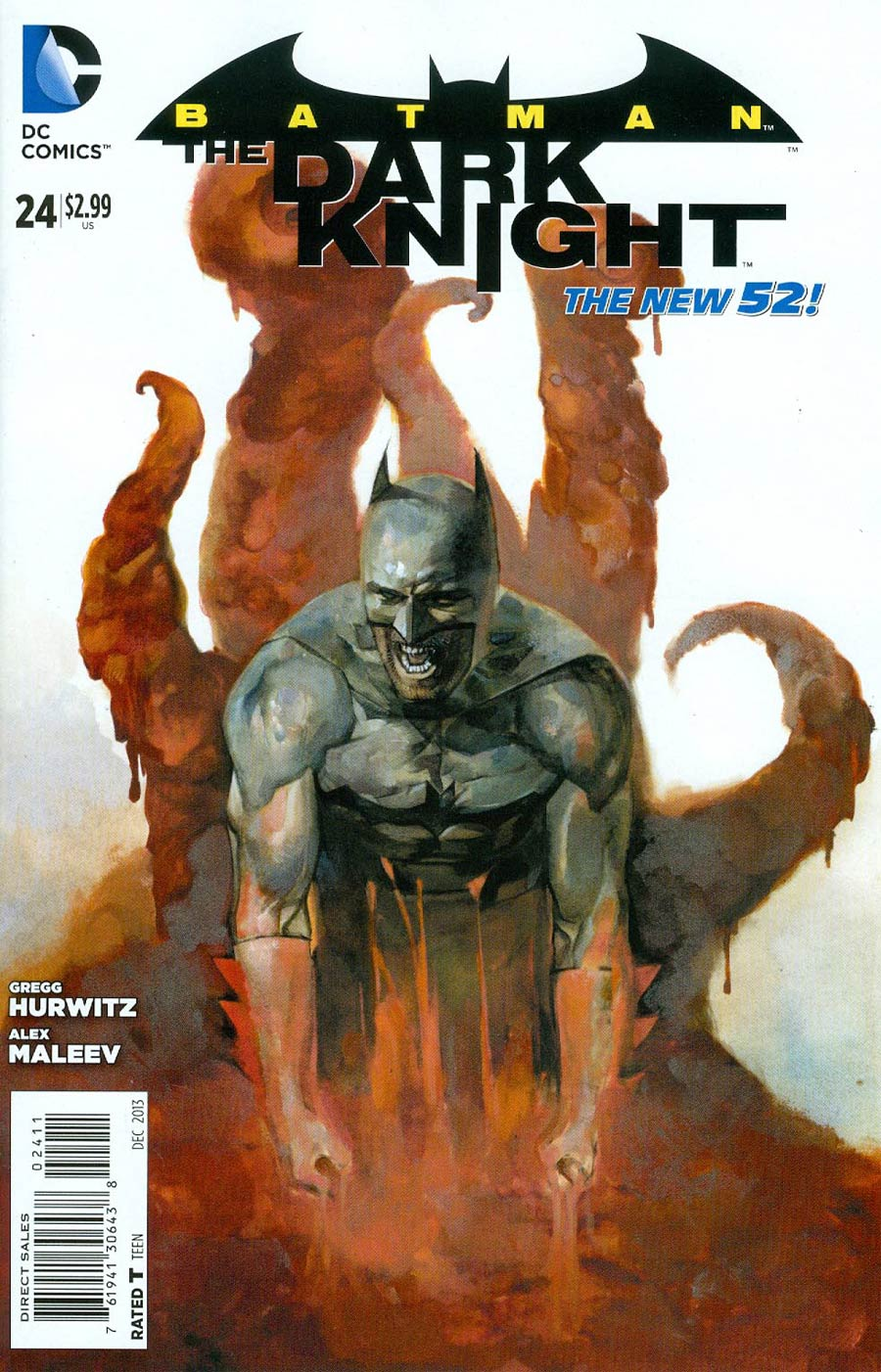 Batman The Dark Knight Vol 2 #24 Cover A Regular Alex Maleev Cover
