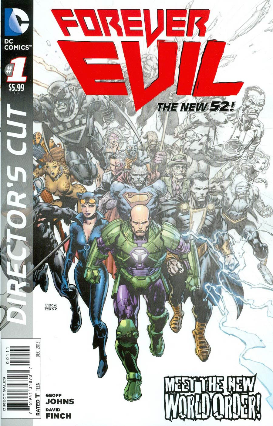 Forever Evil #1 Cover I Directors Cut