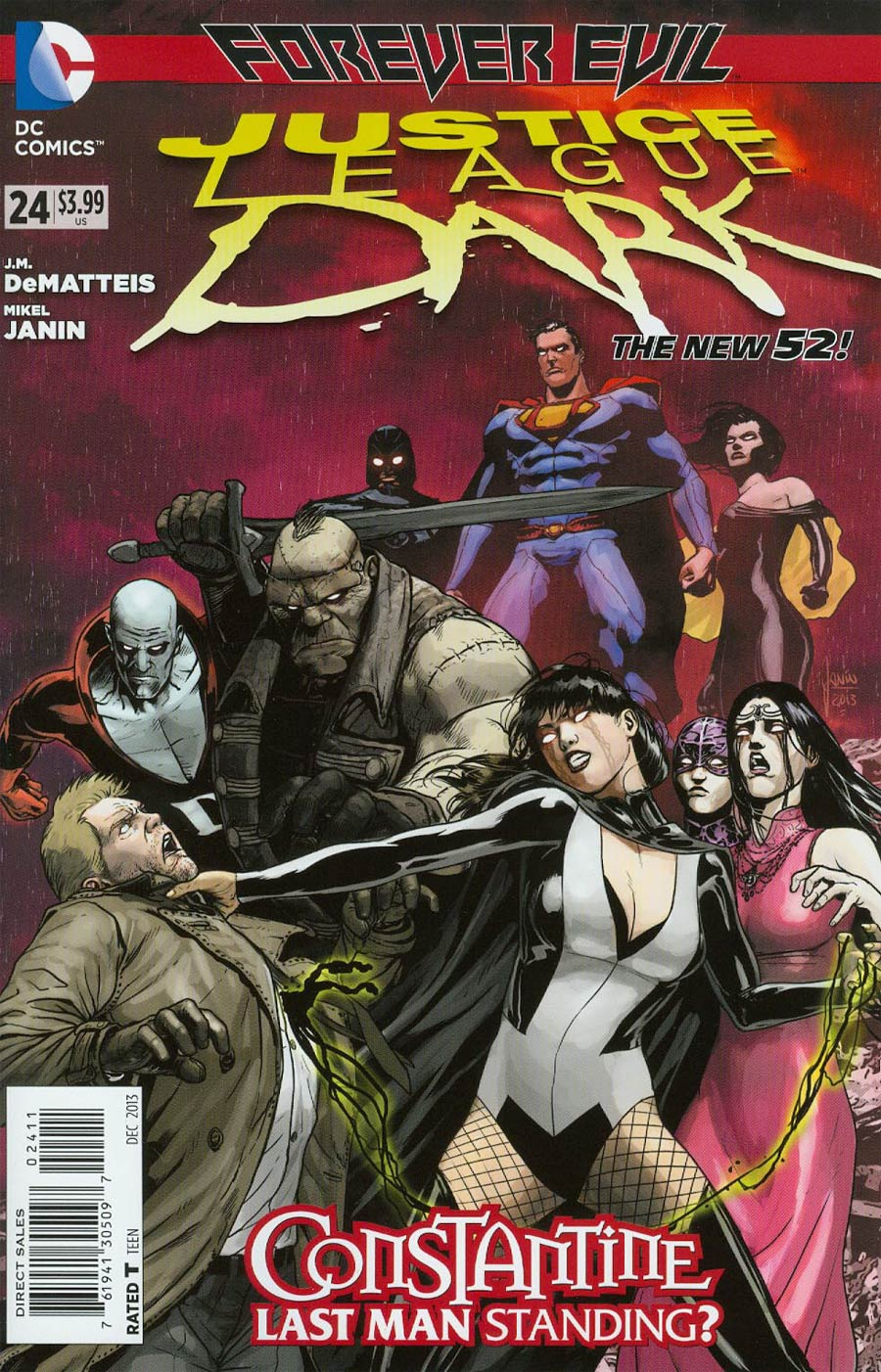 Justice League Dark #24 Cover A Regular Mikel Janin Cover (Forever Evil Tie-In)