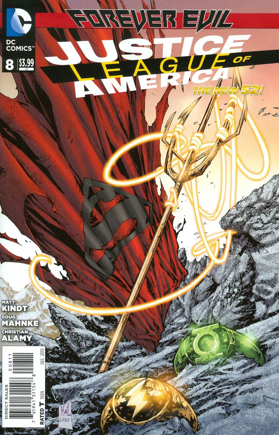Justice League Of America Vol 3 #8 Cover A Regular Ken Lashley Cover (Forever Evil Tie-In)