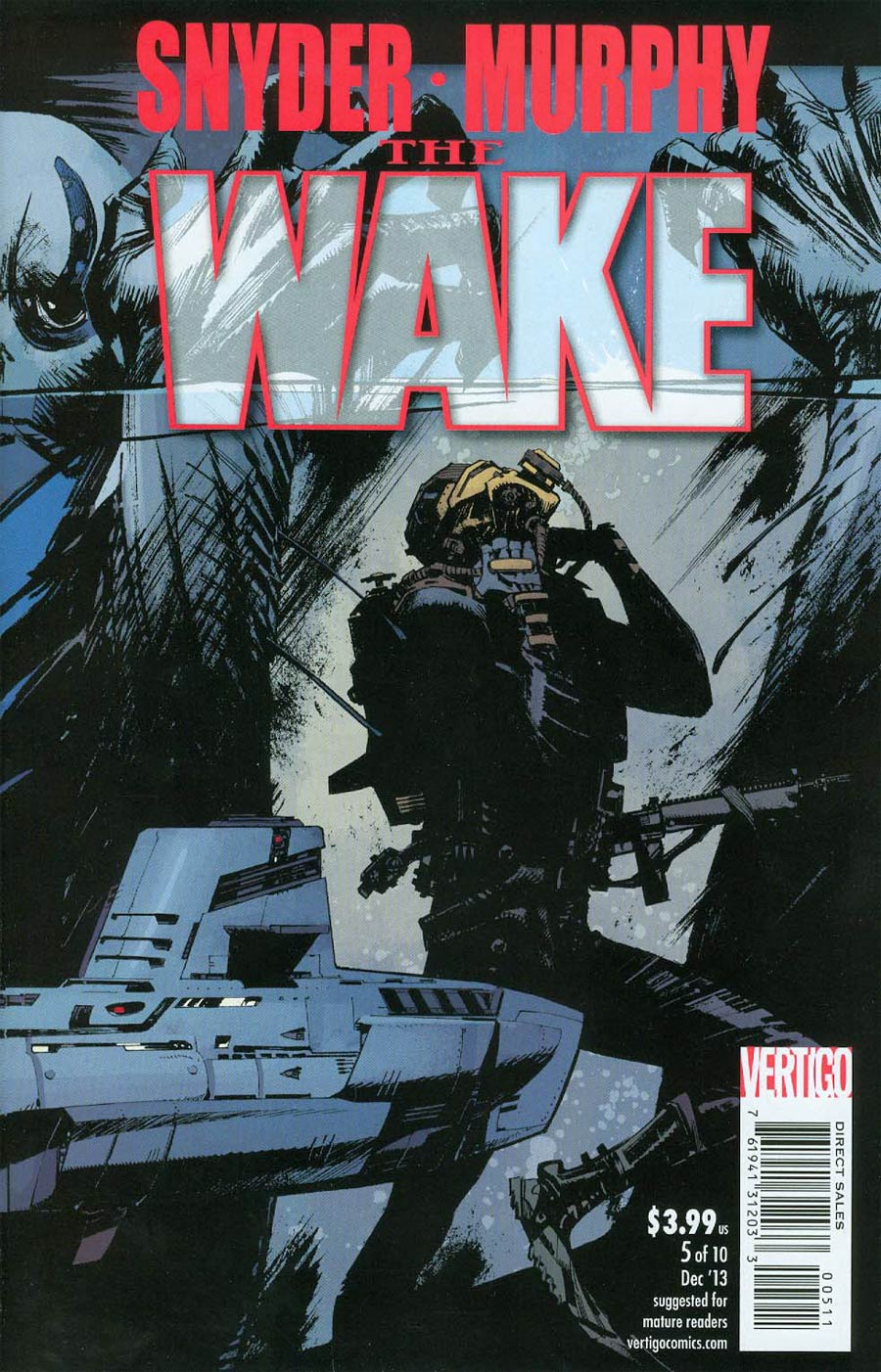 Wake #5 Cover A Regular Sean Murphy Cover