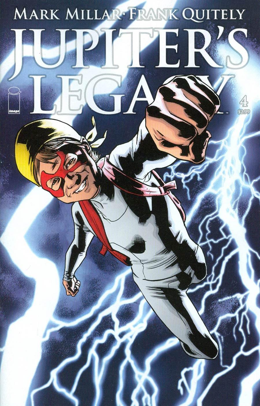 Jupiters Legacy #4 Cover B Bryan Hitch