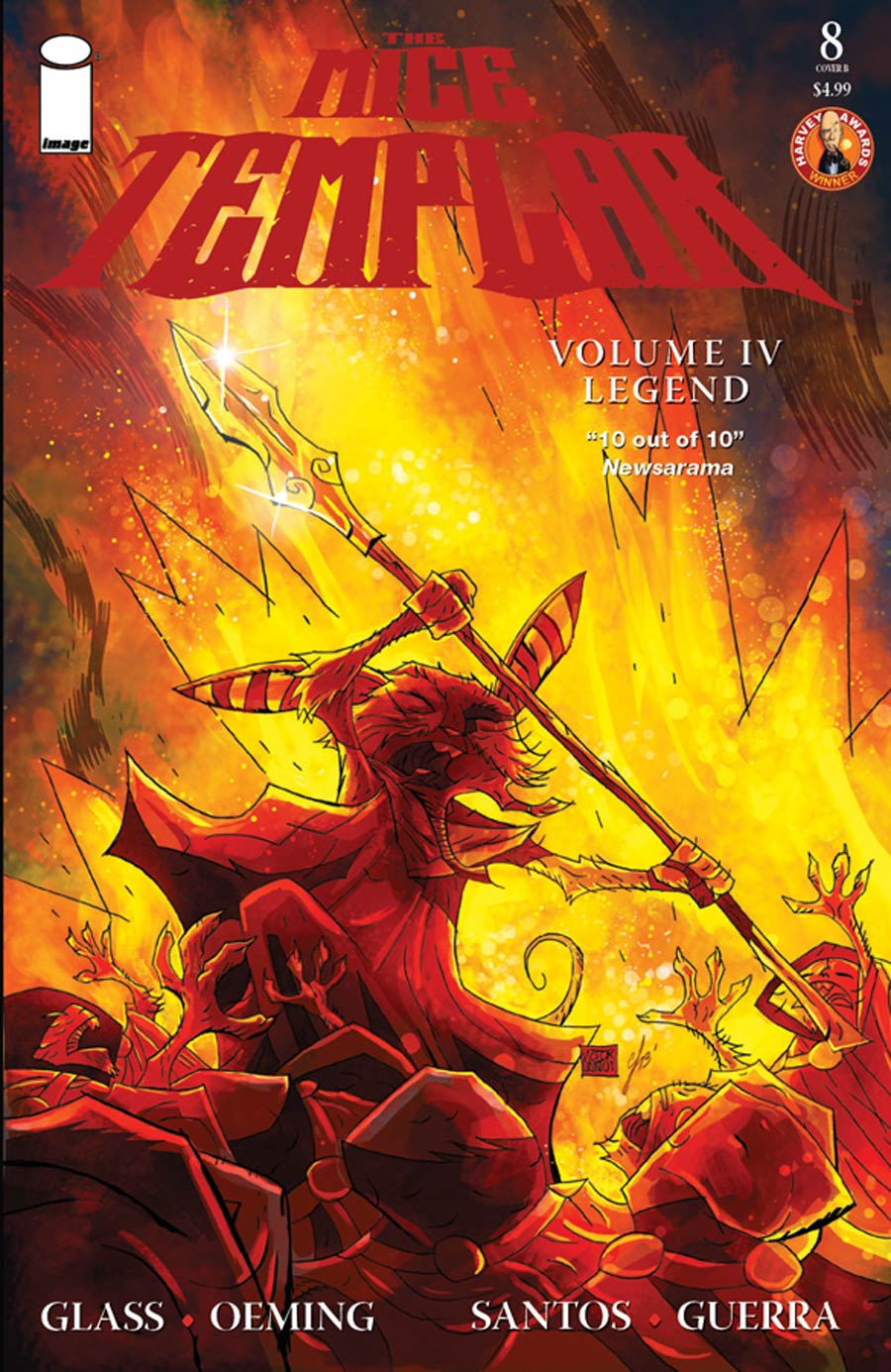 Mice Templar Vol 4 Legend #8 Cover B Victor Santos & Chandra Free