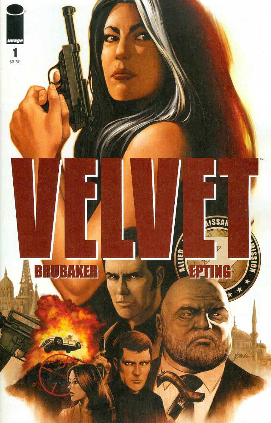 Velvet #1 Cover A 1st Ptg Regular Steve Epting Cover