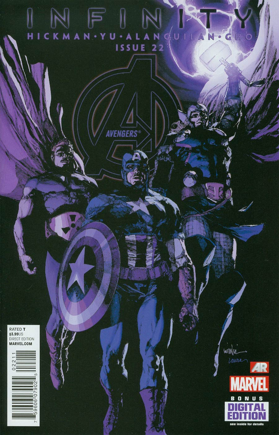 Avengers Vol 5 #22 Cover A Regular Leinil Francis Yu Cover (Infinity Tie-In)
