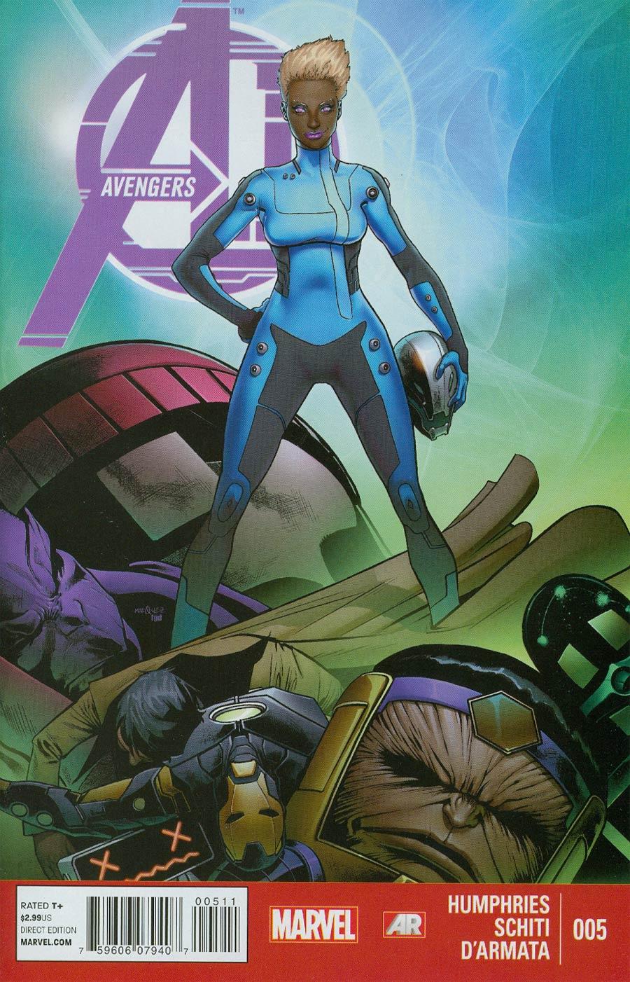 Avengers AI #5 Cover A Regular Dave Marquez Cover
