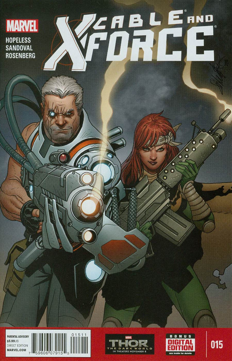 Cable And X-Force #15 Cover A Regular Salvador Larroca Cover