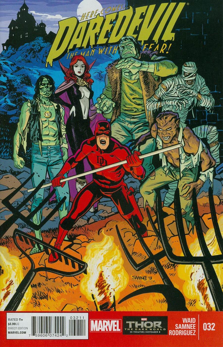 Daredevil Vol 3 #32 Cover A Regular Chris Samnee Cover