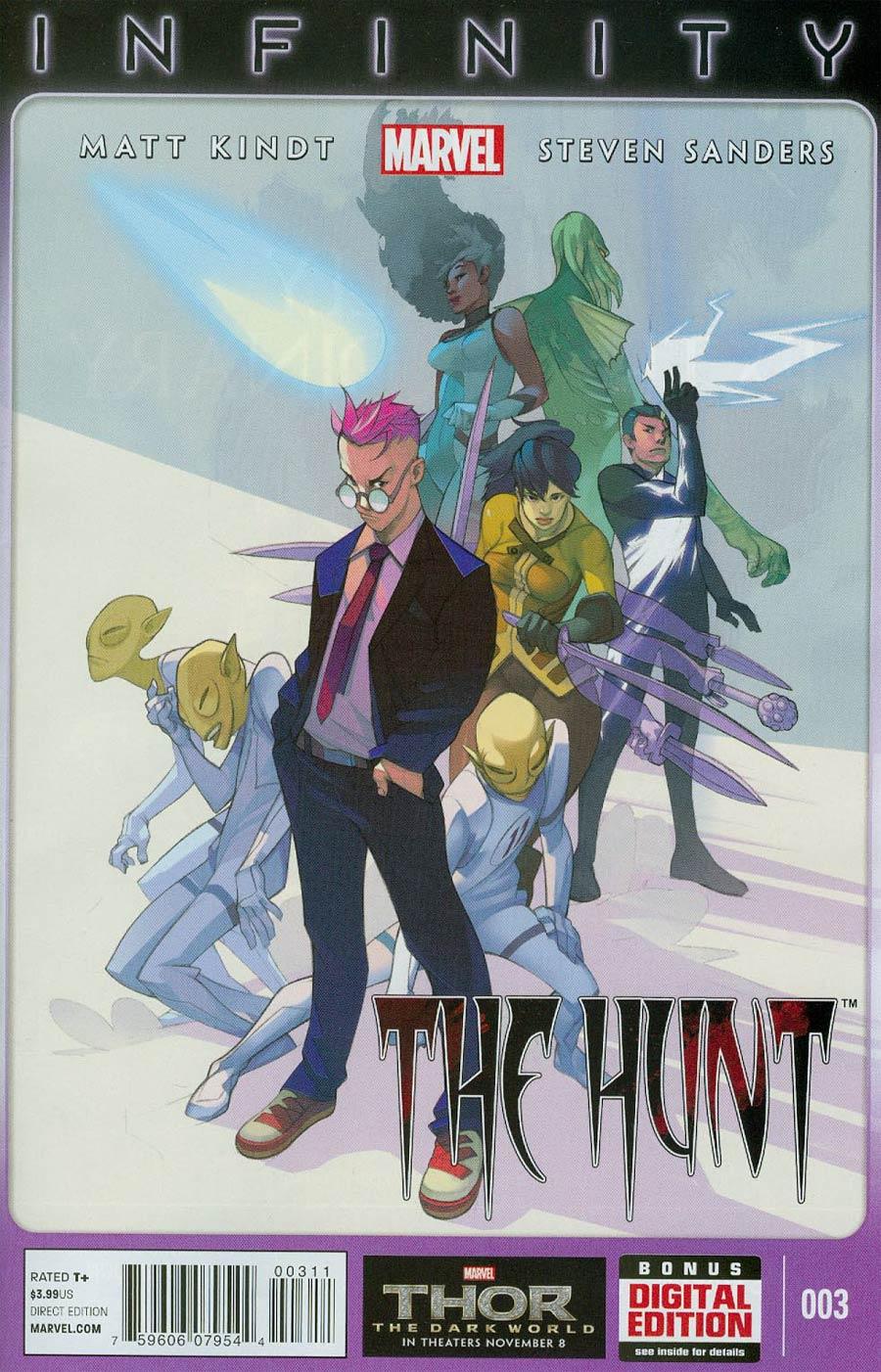 Infinity Hunt #3 (Infinity Tie-In)