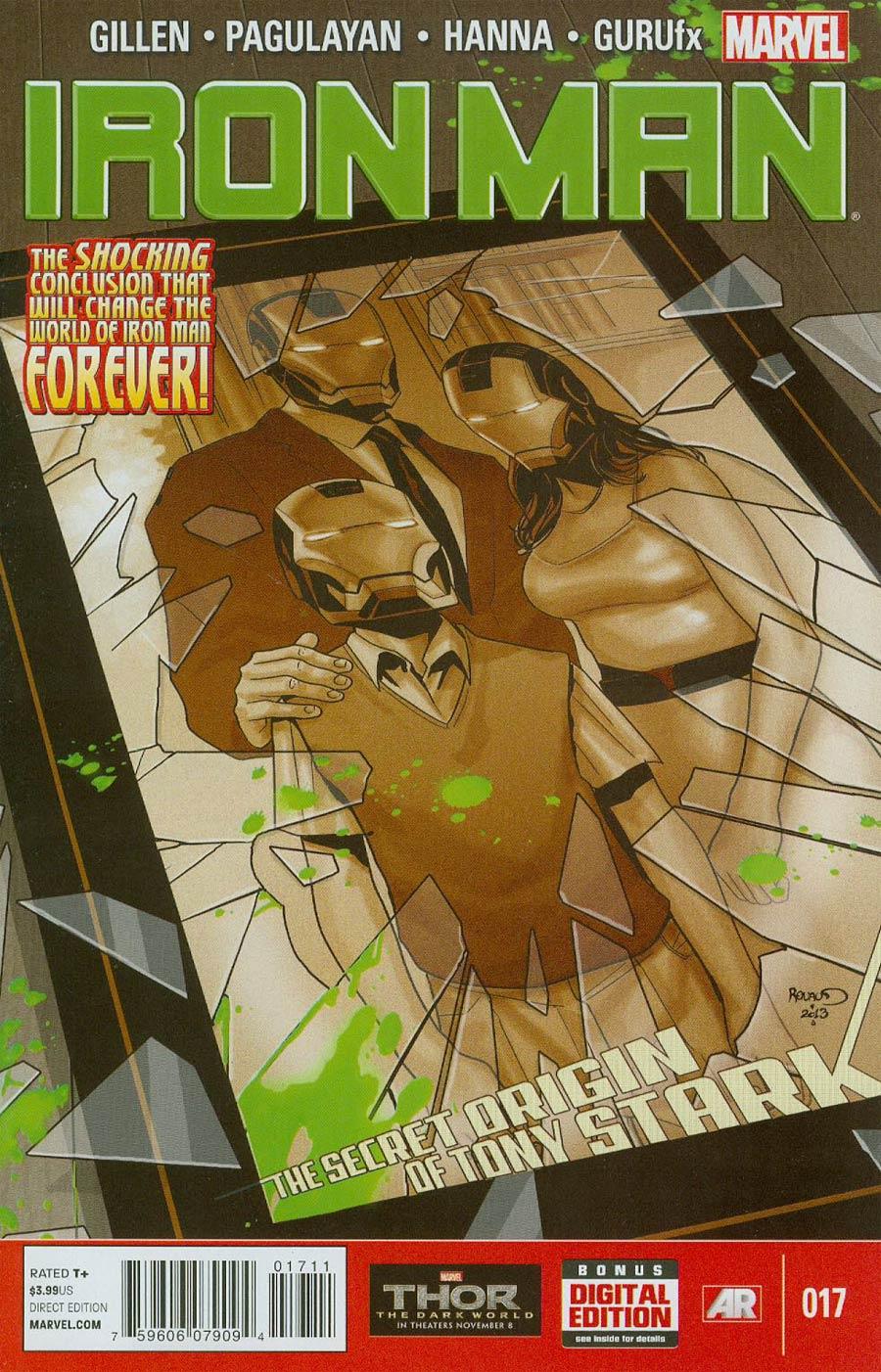 Iron Man Vol 5 #17 Cover A Regular Carlo Pagulayan Cover