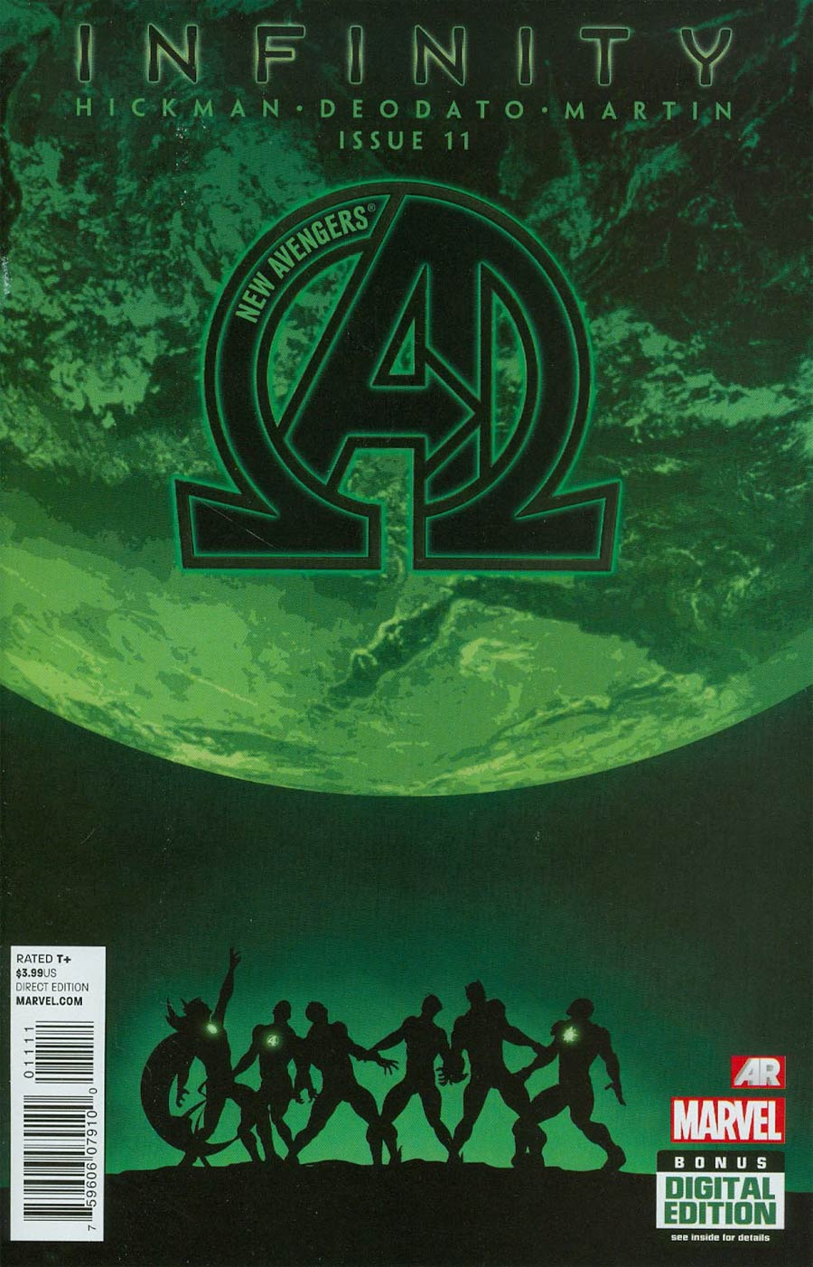 New Avengers Vol 3 #11 Cover A Regular Mike Deodato Jr Cover (Infinity Tie-In)