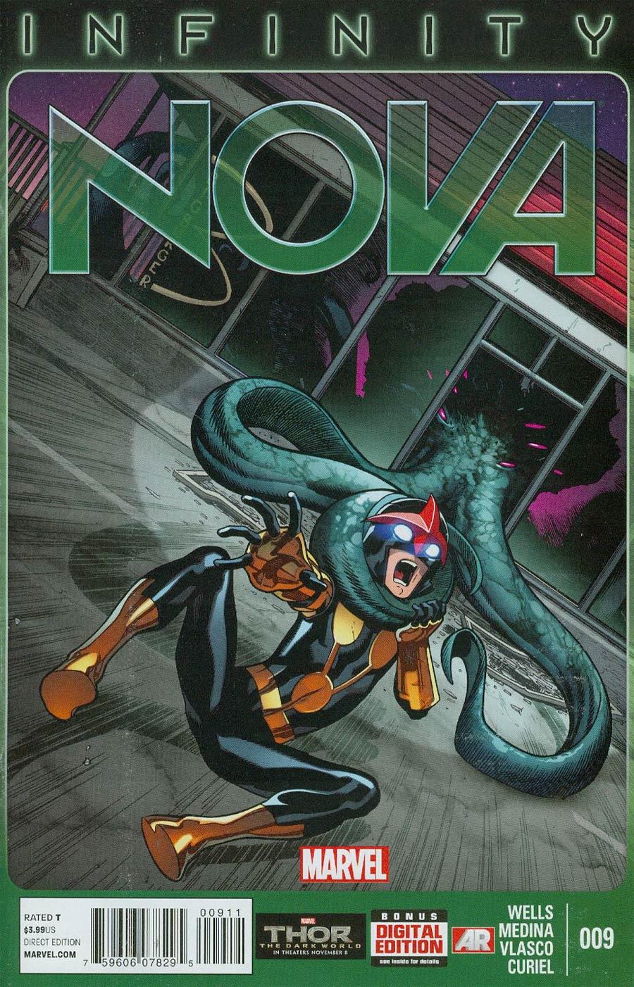 Nova Vol 5 #9 (Infinity Tie-In)
