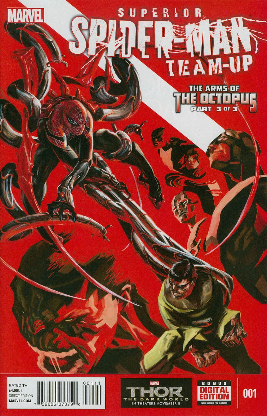 Superior Spider-Man Team-Up Special #1 Cover A Regular Alexander Lozano Cover (Arms Of The Octopus Part 3)