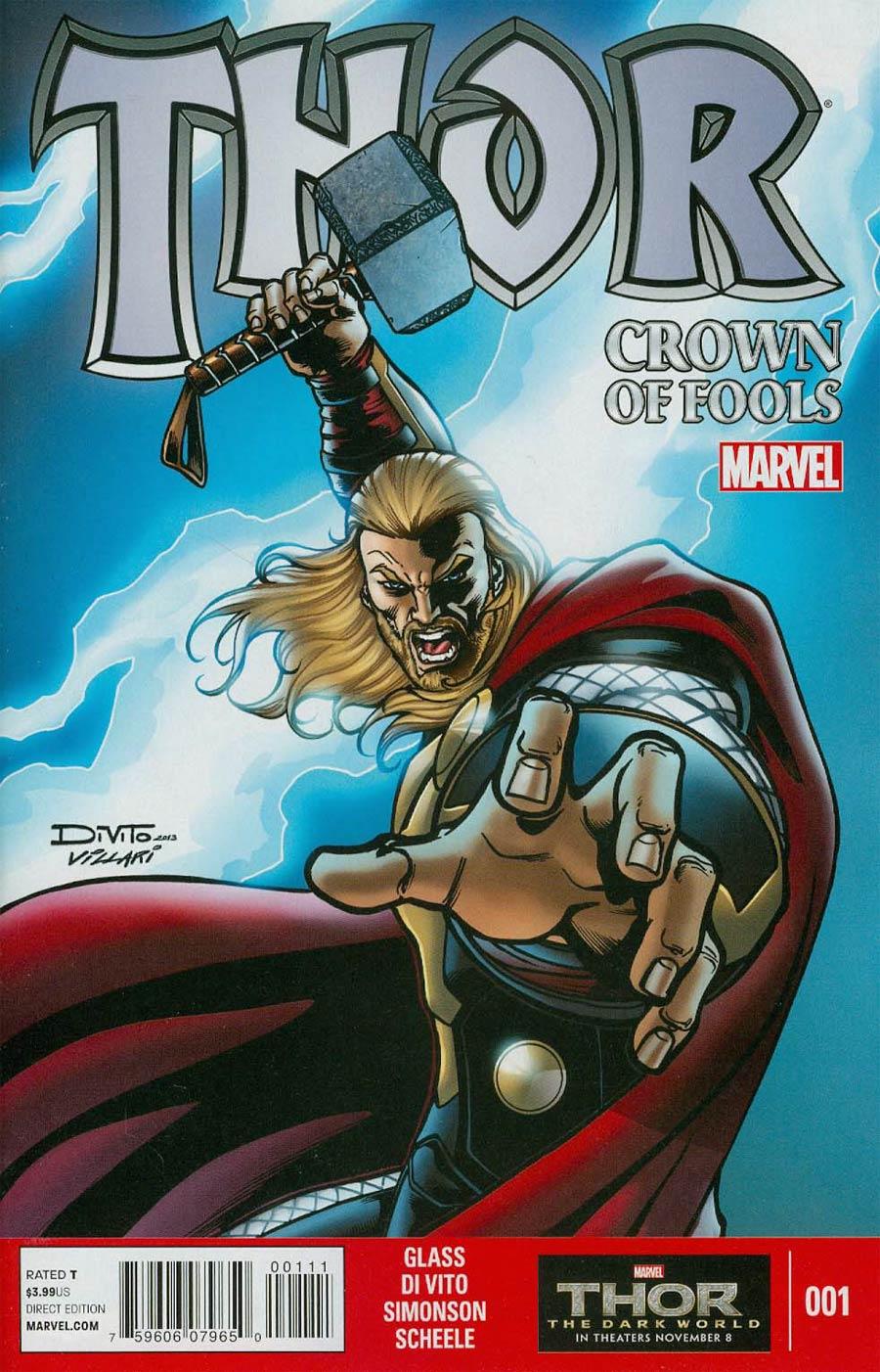 Thor Crown Of Fools #1
