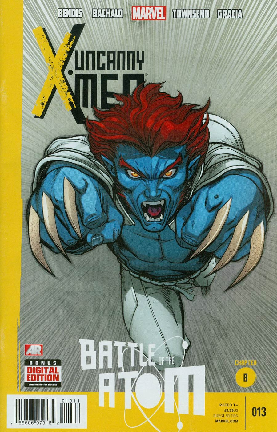 Uncanny X-Men Vol 3 #13 Cover A Regular Ed McGuinness Cover (Battle Of The Atom Part 8)
