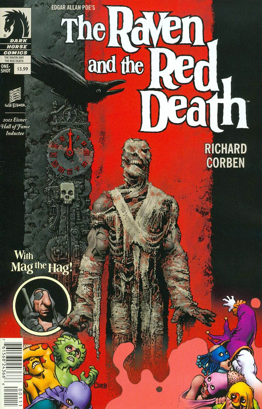 Edgar Allan Poes The Raven And The Red Death One Shot