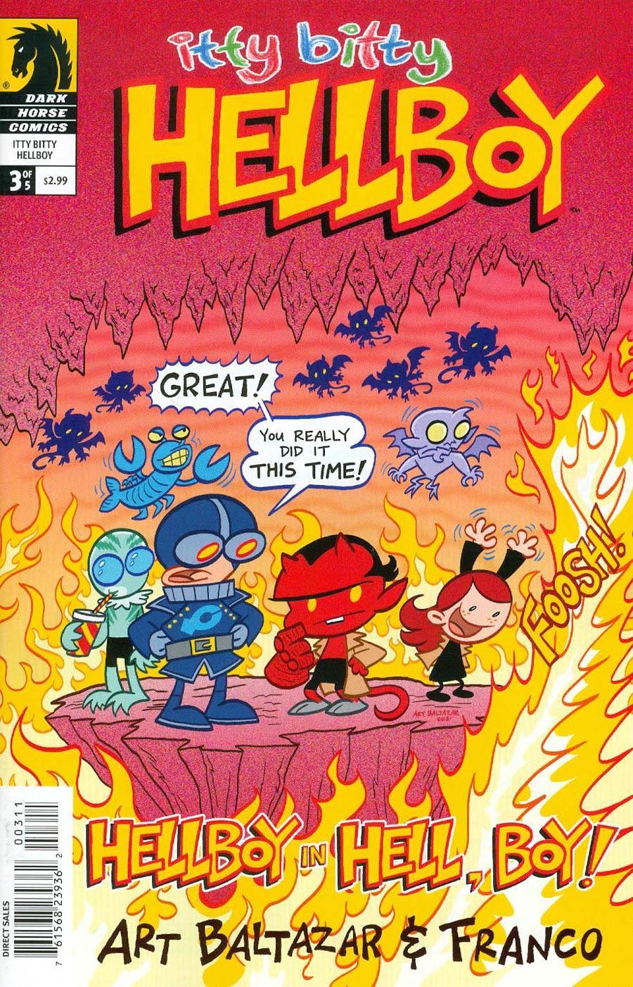 Itty Bitty Hellboy #3 Cover A Art Baltazar