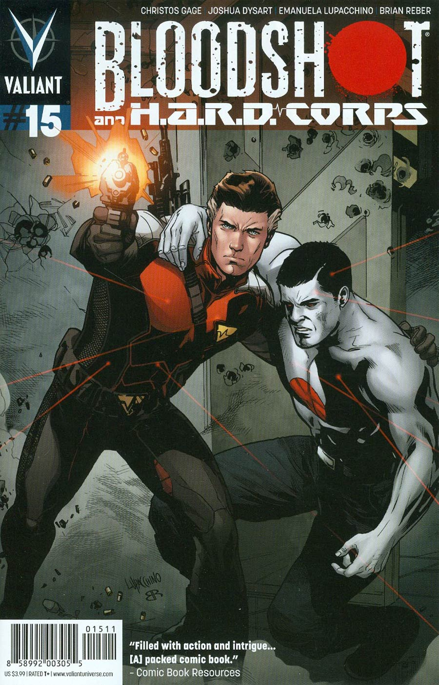 Bloodshot And H.A.R.D. Corps #15 Cover A Regular Emanuela Lupacchino Cover