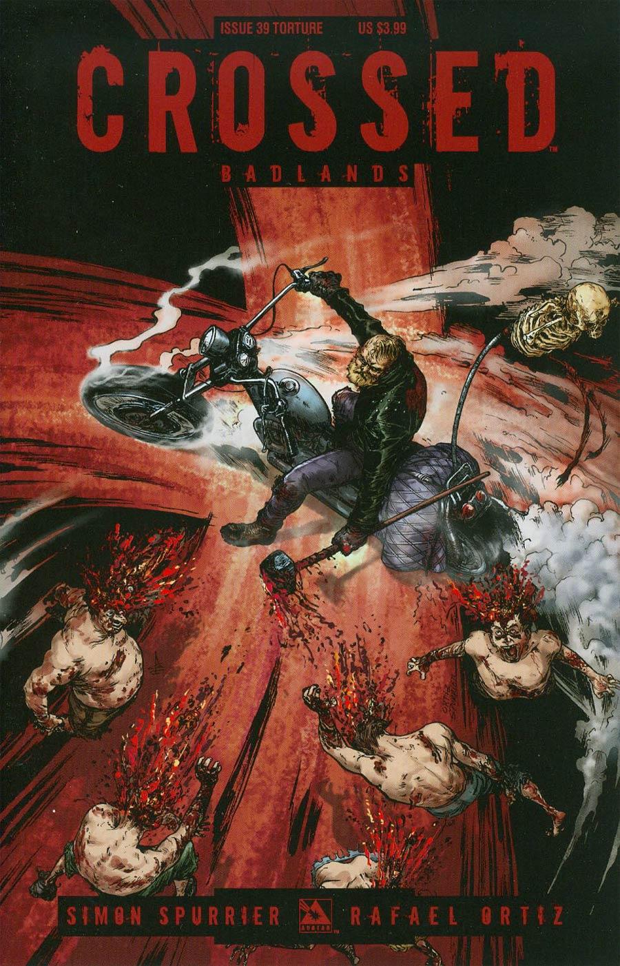 Crossed Badlands #39 Cover C Torture Cvr