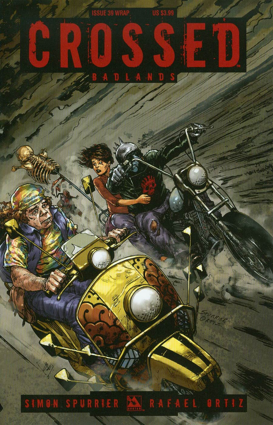 Crossed Badlands #39 Cover B Wrap Cvr