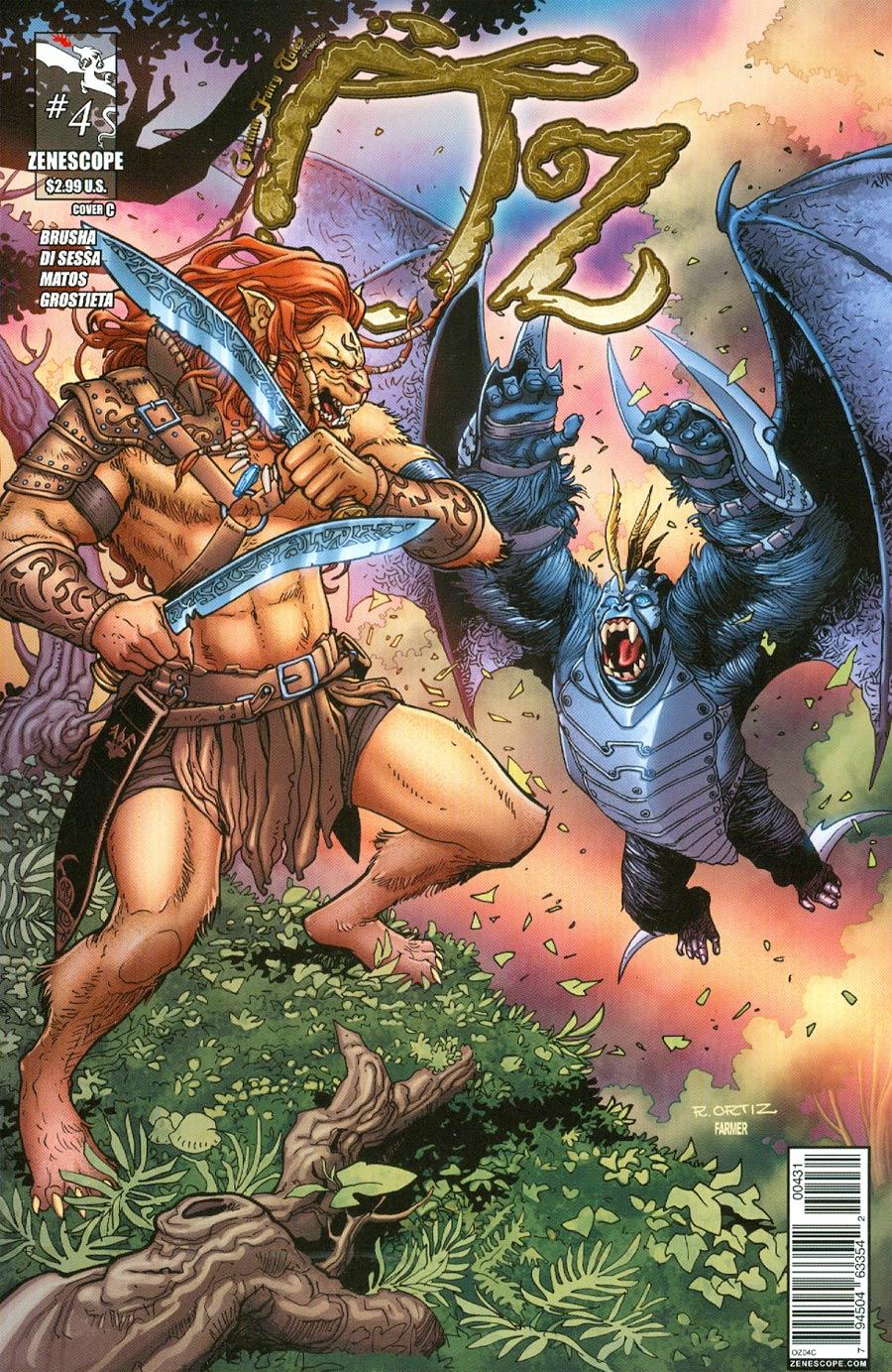 Grimm Fairy Tales Presents Oz #4 Cover C Richard Ortiz