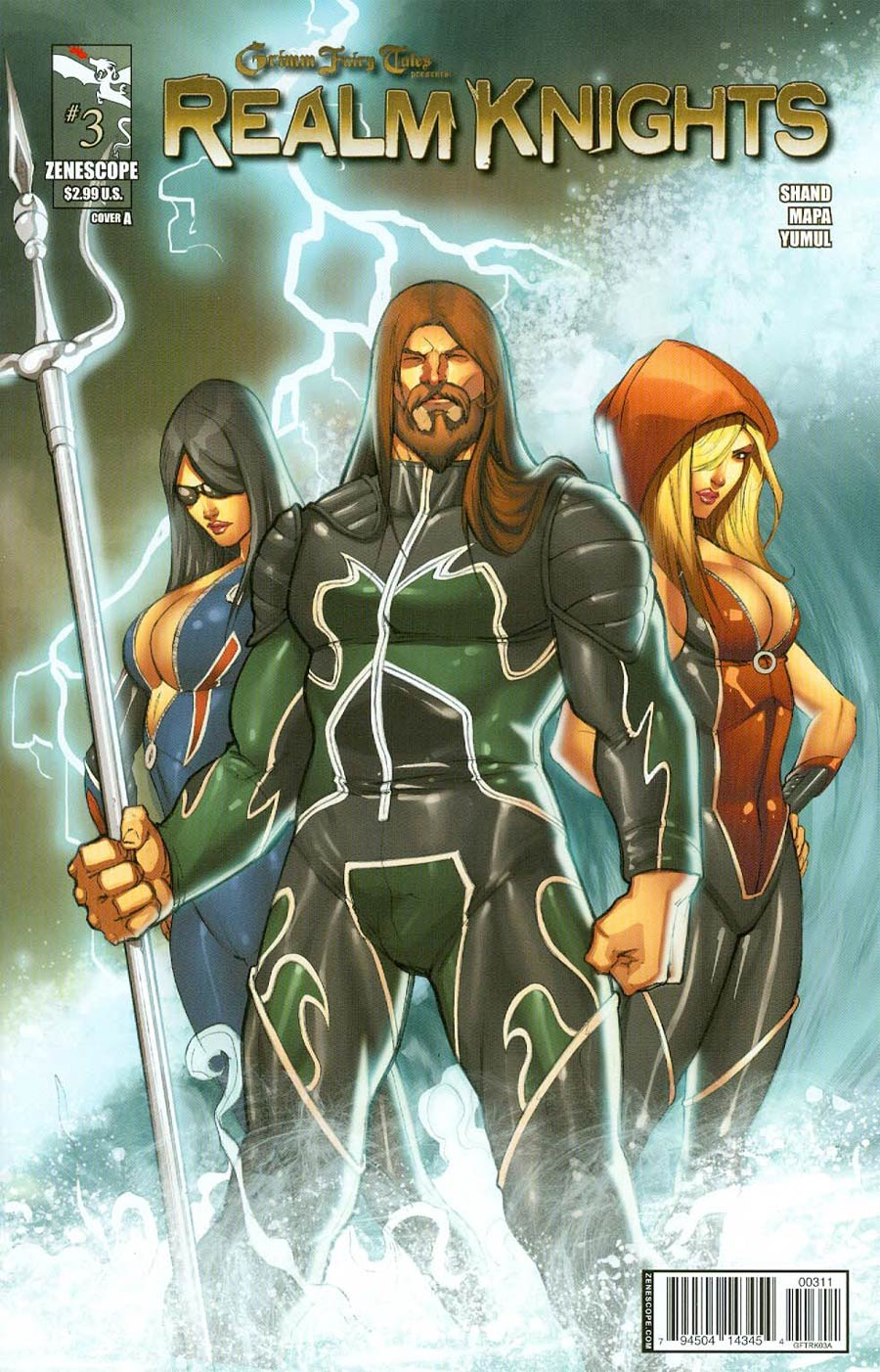 Grimm Fairy Tales Presents Realm Knights #3 Cover A Pasquale Qualano