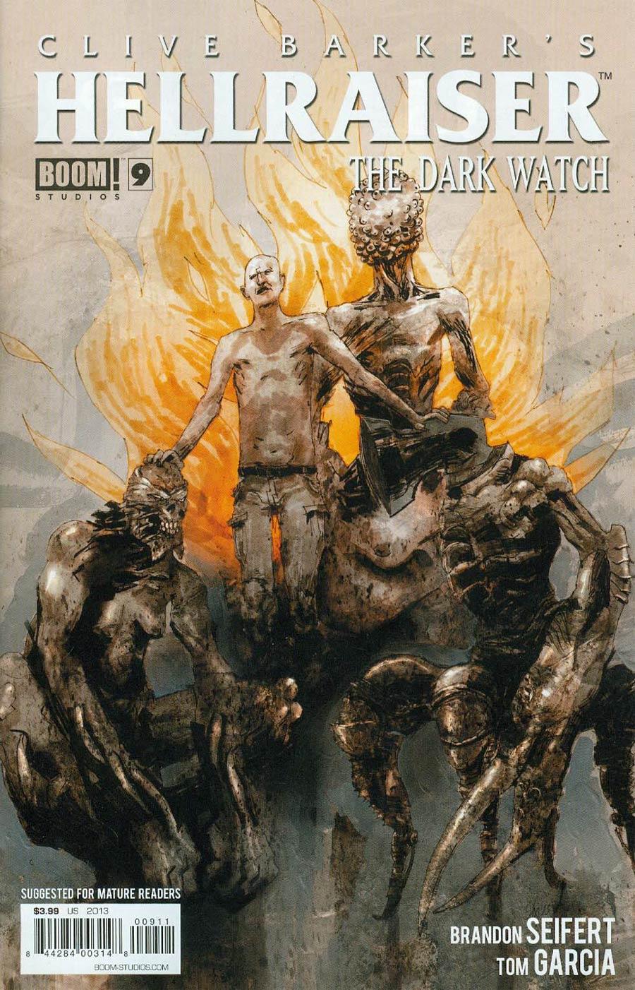Clive Barkers Hellraiser Dark Watch #9