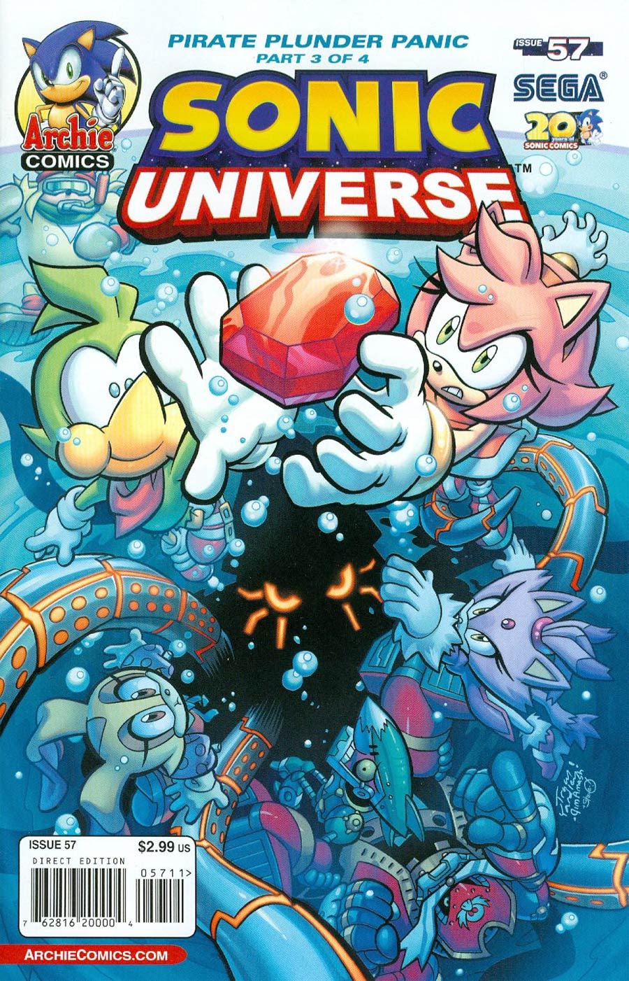 Sonic Universe #57 Cover A Regular Tracy Yardley Cover