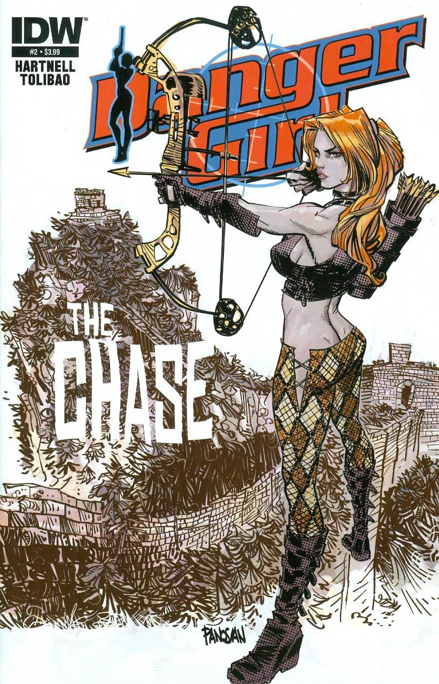 Danger Girl The Chase #2 Cover A Regular Dan Panosian Cover