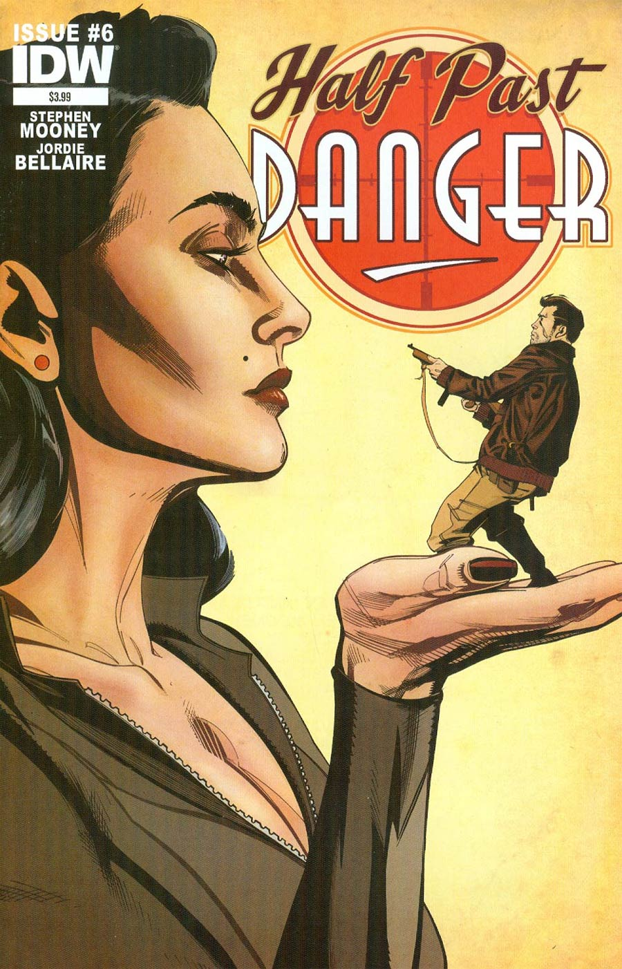 Half Past Danger #6 Cover A Regular Stephen Mooney Cover