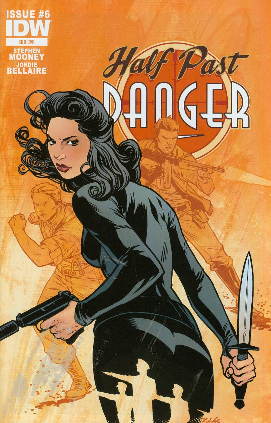 Half Past Danger #6 Cover B Variant Rebekah Isaacs Subscription Cover