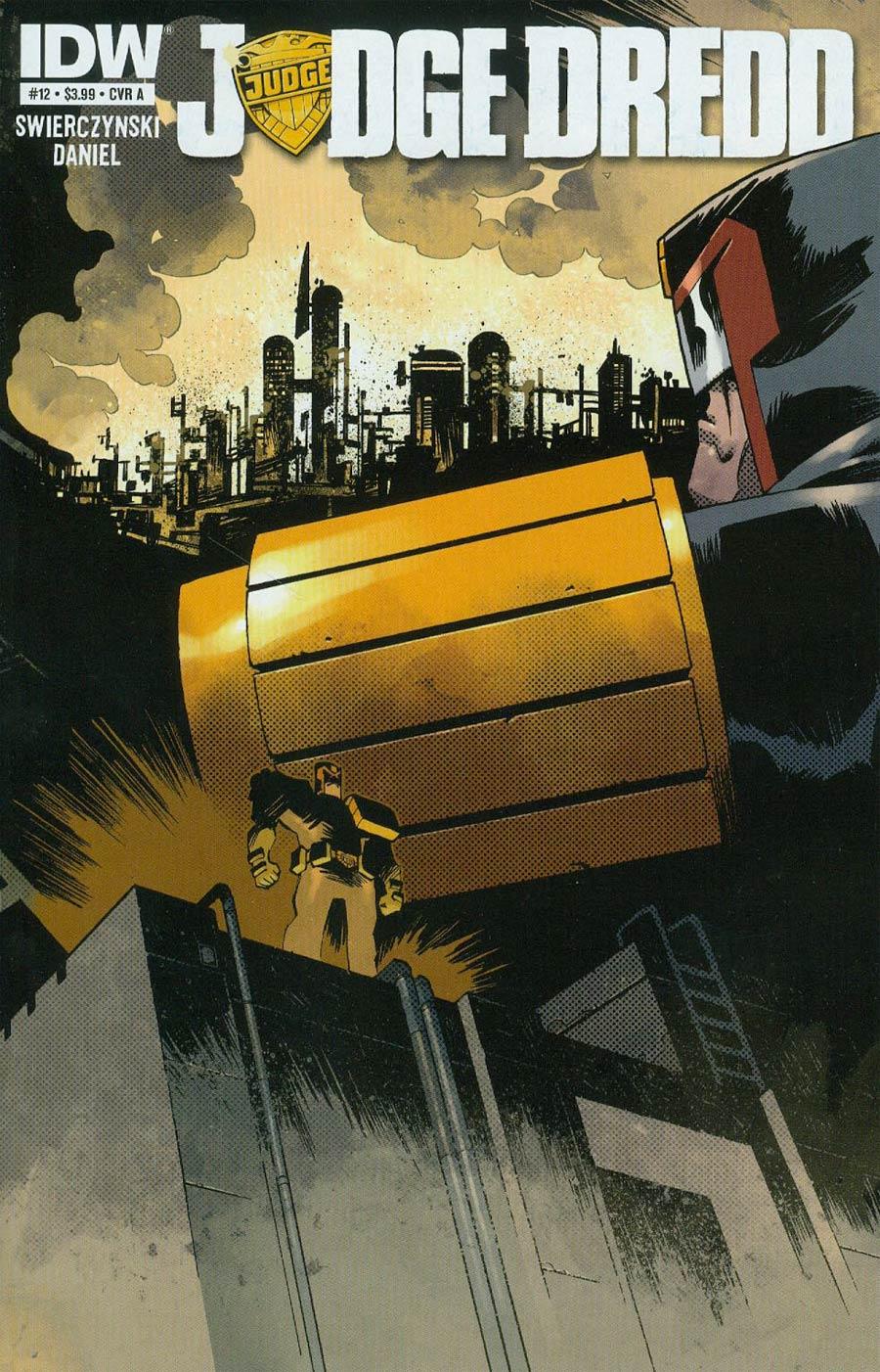 Judge Dredd Vol 4 #12 Cover A Regular Nelson Daniel Cover
