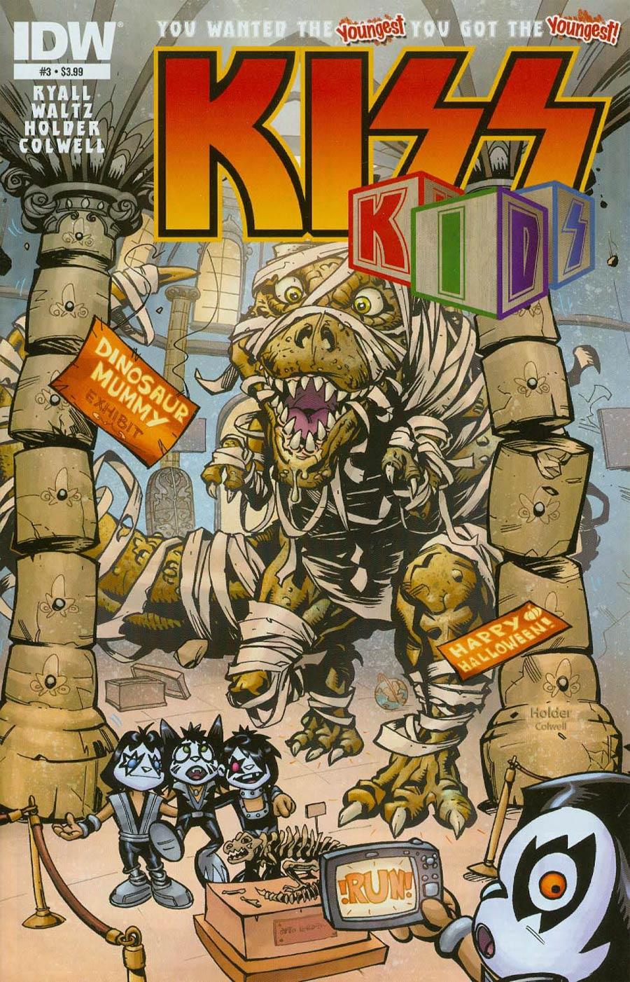 KISS Kids #3 Cover A Regular Jose Holder Cover