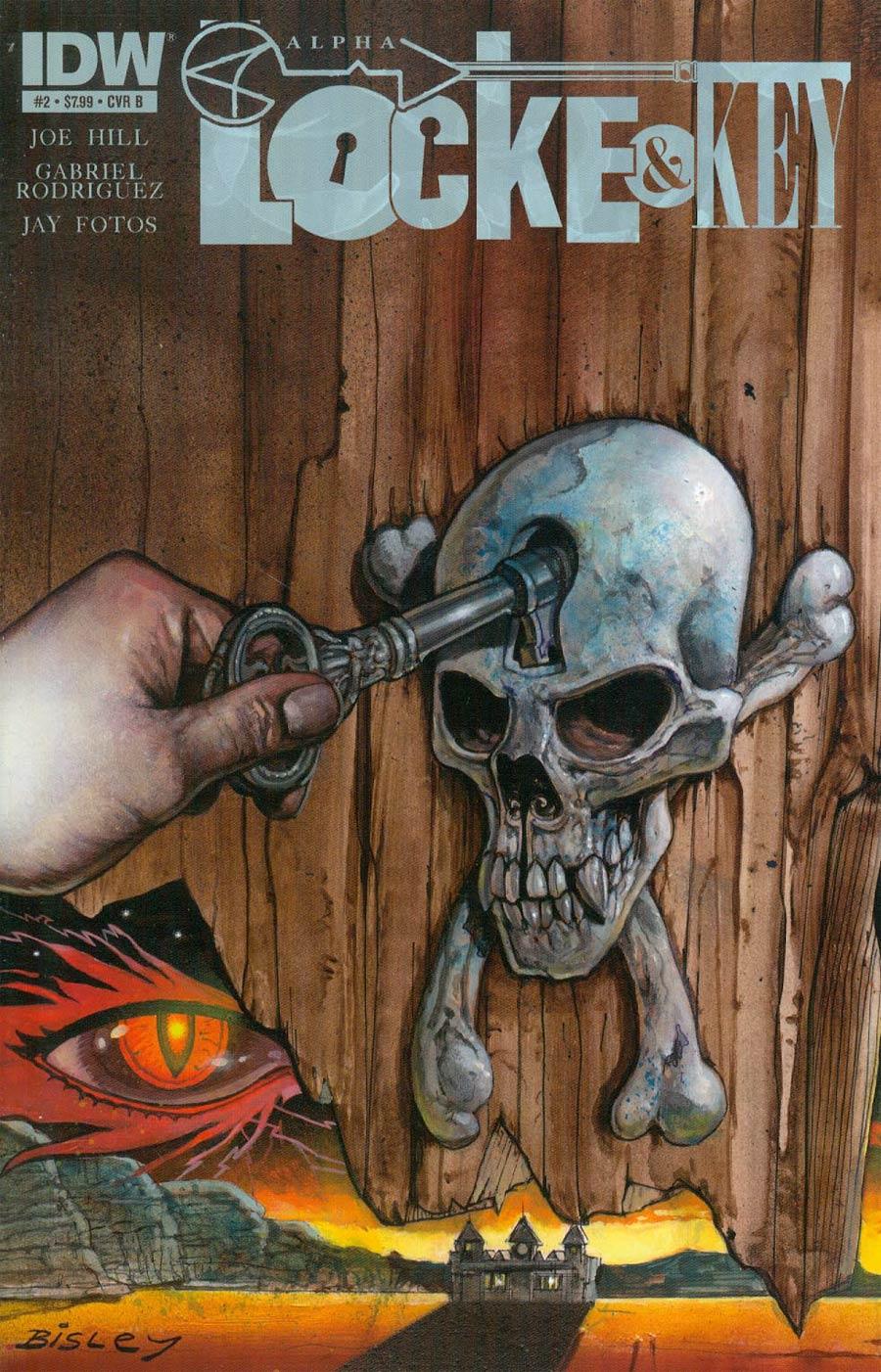 Locke & Key Alpha #2 Cover B Regular Simon Bisley Cover