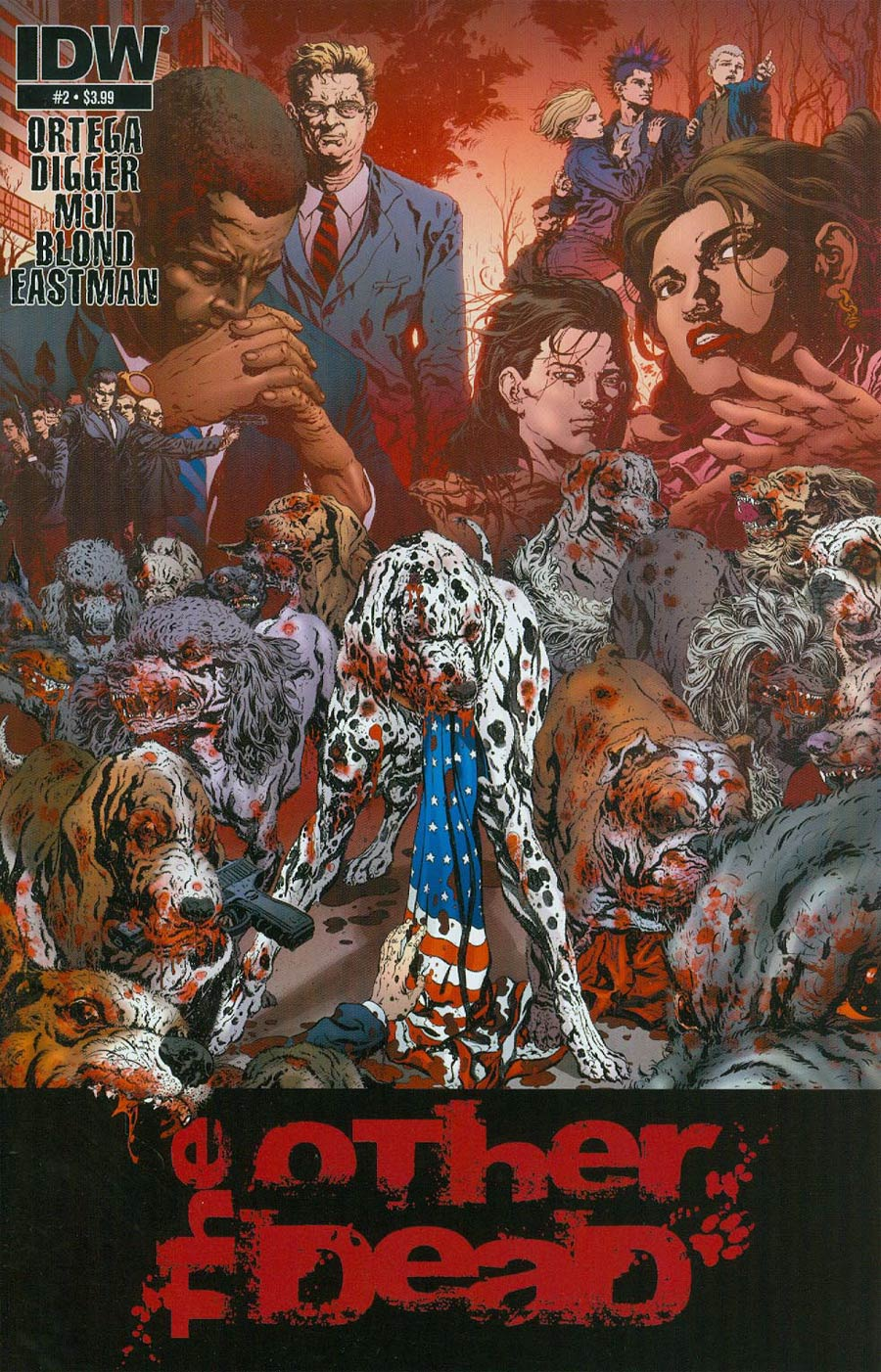 Other Dead #2 Cover A Regular Qing Ping Mui Cover