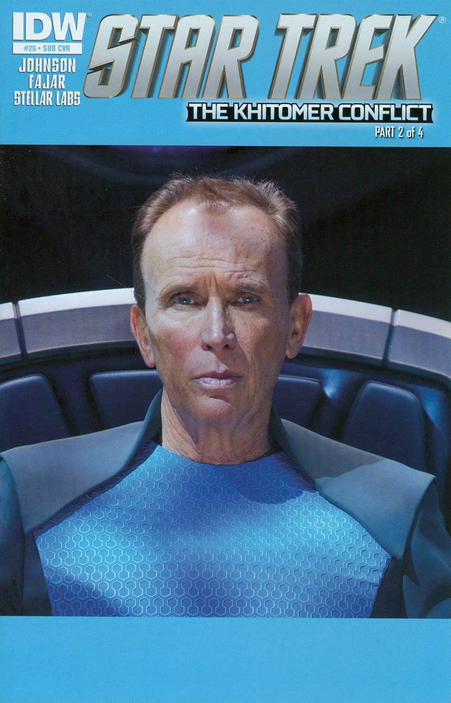 Star Trek (IDW) #26 Cover B Variant Photo Subscription Cover