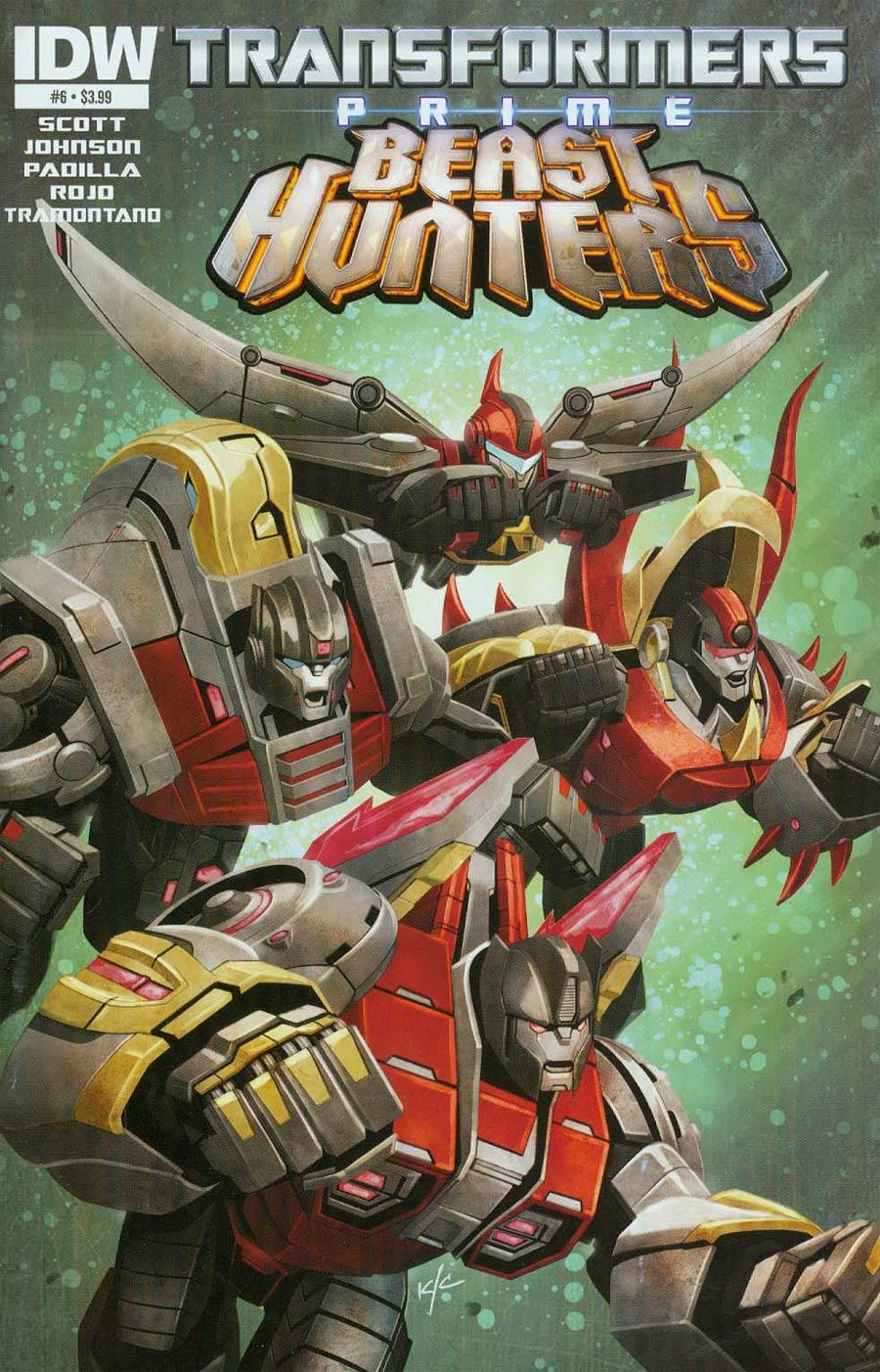 Transformers Prime Beast Hunters #6 Cover A Regular Ken Christiansen Cover
