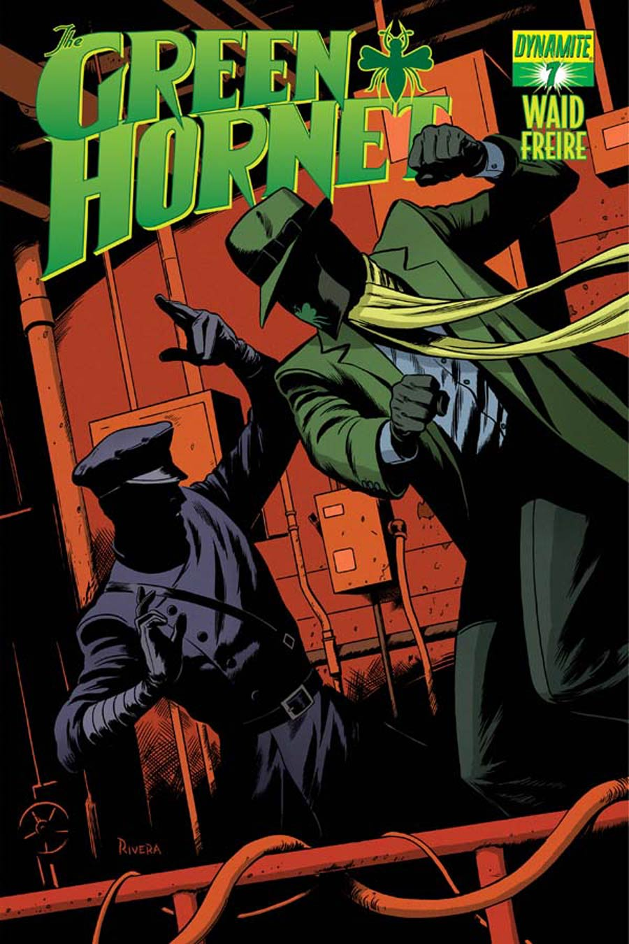 Mark Waids Green Hornet #7 Cover A Regular Paolo Rivera Cover