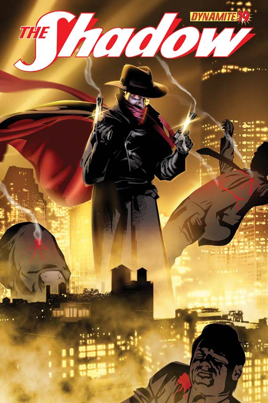 Shadow Vol 5 #19 Cover C Variant Dennis Calero Subscription Cover