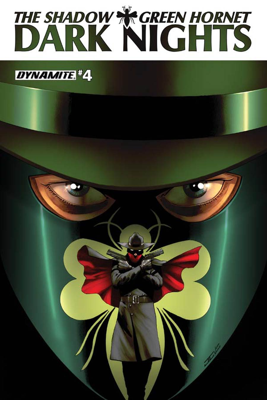 Shadow Green Hornet Dark Nights #4 Cover B Regular John Cassaday Cover