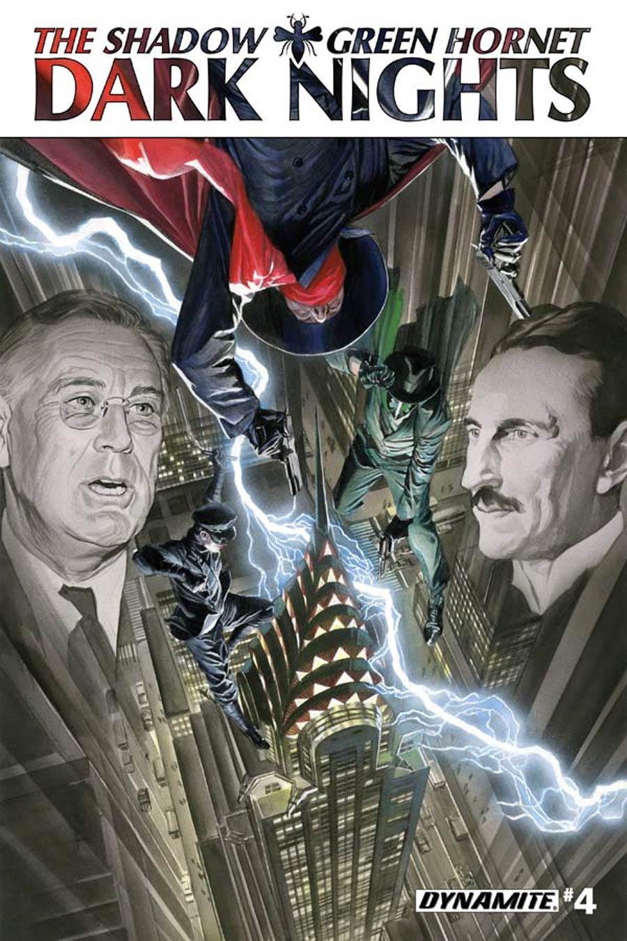 Shadow Green Hornet Dark Nights #4 Cover A Regular Alex Ross Cover