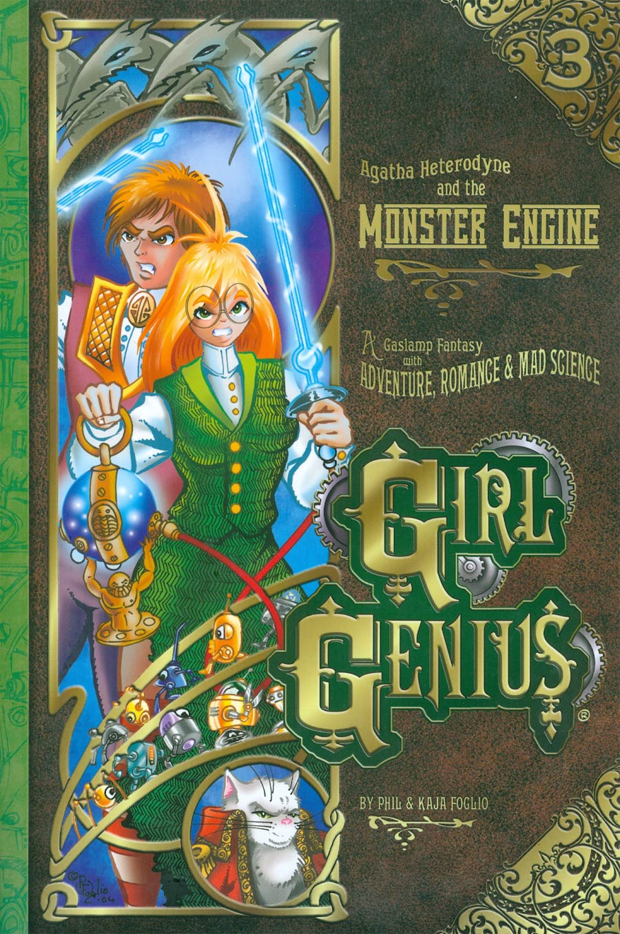 Girl Genius Vol 3 Agatha Heterodyne And The Monster Engine TP New Printing