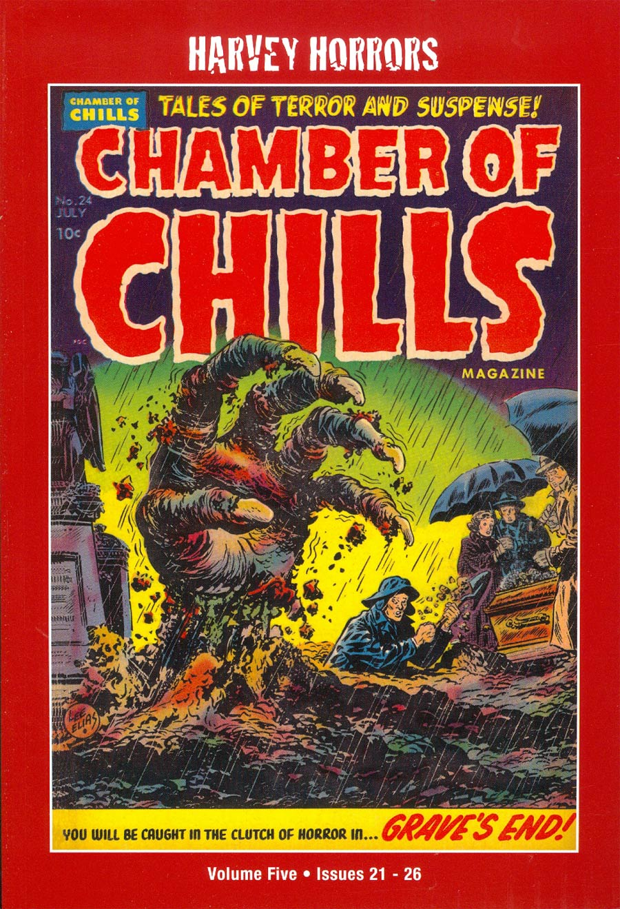 Harvey Horrors Collected Works Chamber Of Chills Softie Vol 5 TP