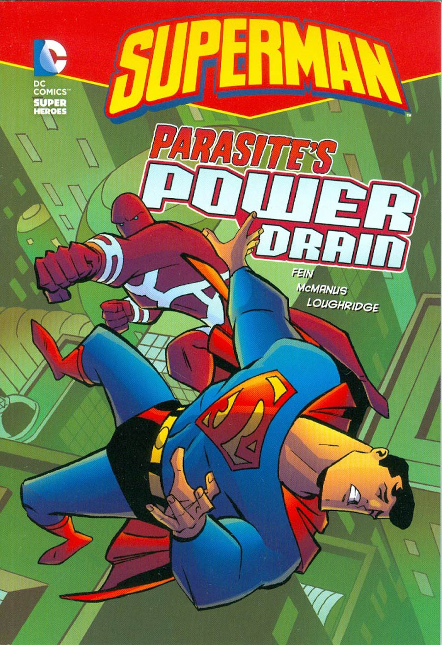DC Super Heroes Superman Parasites Power Drain TP