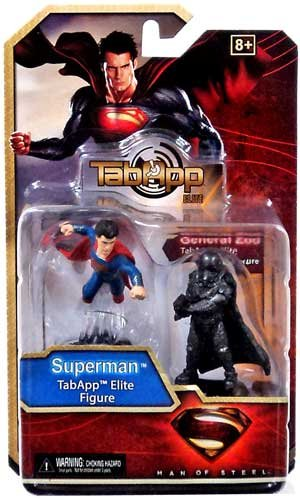 DC HeroClix Man Of Steel TabApp Elite 2-Pack