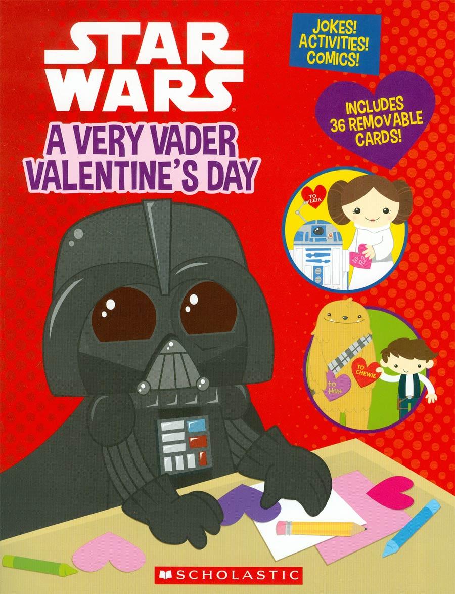 Star Wars A Very Vader Valentines Day SC